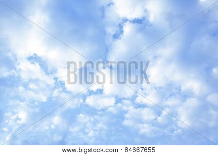 Clouds, may be used as background