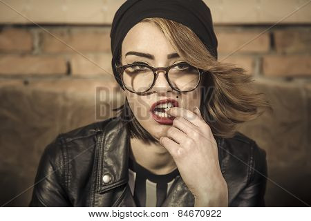 Seductive Lady