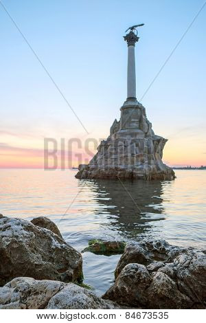 Veiw of Sevastopol sea bay
