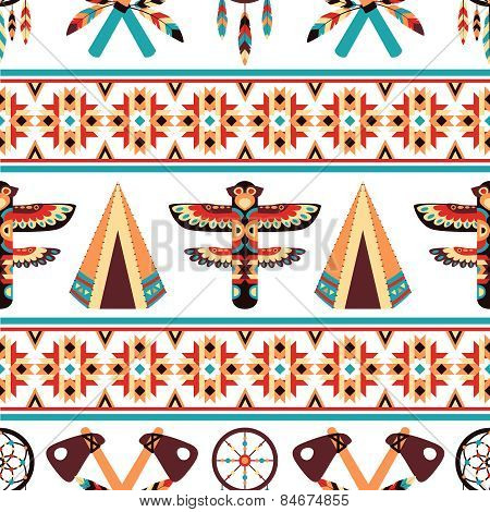 Ethnic border pattern design