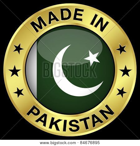 Pakistan Made In Badge