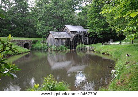 Bucolic Water Mill