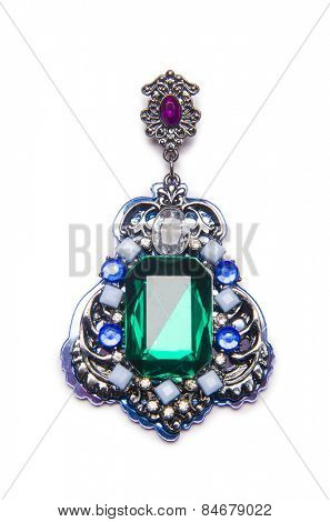 Nice pendant isolated on white