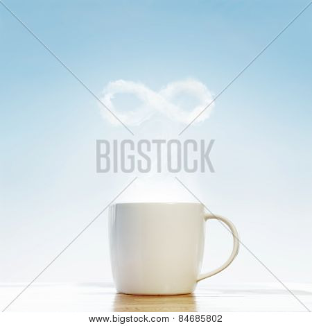 Coffee Infinity Symbol