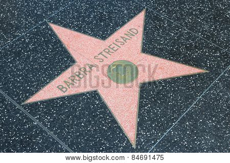 Barbra Streisand Star