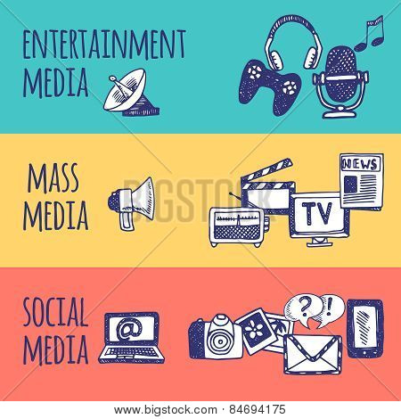 Media Banner Set