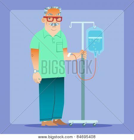 Man Dropper Medicine Health