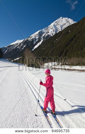 Cross-country Skiing Girl