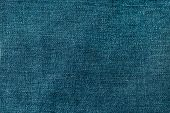 stock photo of denim jeans  - Blue denim jeans texture or background - JPG