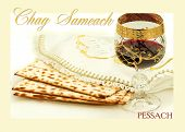pic of hebrew  - the symbols of the feast of Passover - JPG