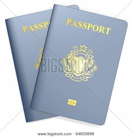 Passports.