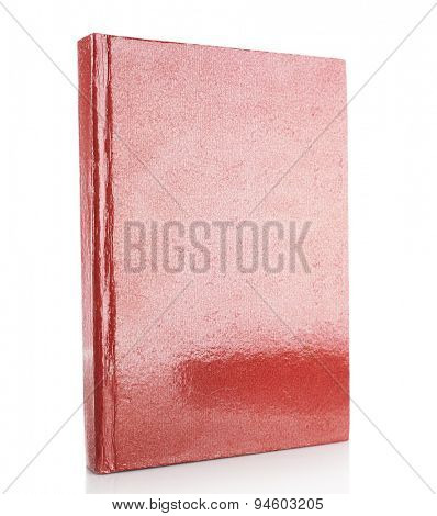 Single book isolated on white