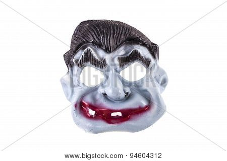 Halloween Monster Mask Isolated