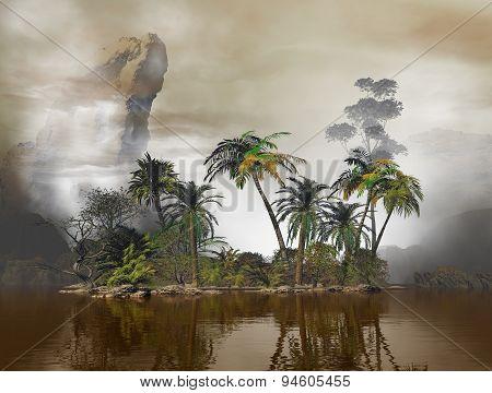Fancy Tropical Island