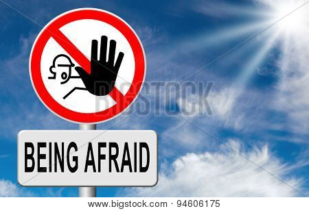 stop fear or being afraid for snakes height needles spiders darkness arachnaphobia phobia psycholigical paralysis panic attack