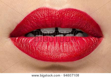 Red Gloss Lips