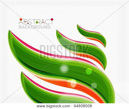Swirl design. Universal for all ideas and concepts. Business creative icon