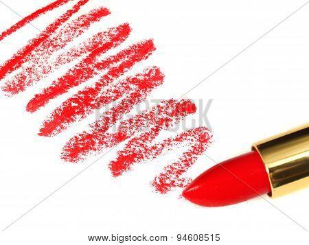 Lipstick And Streaks