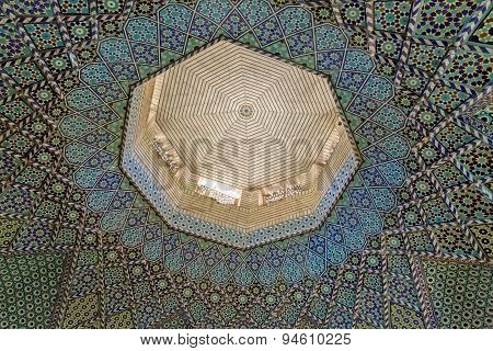 Mausoleum of Saady ceiling mosaic