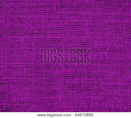 Dark magenta burlap texture background