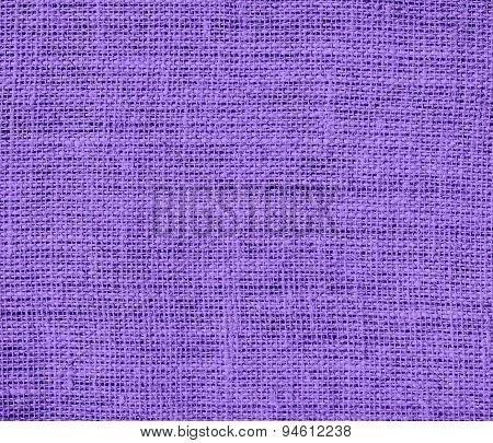 Dark pastel purple burlap texture background