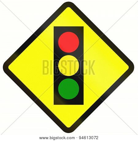 Traffic Lights In Indonesia