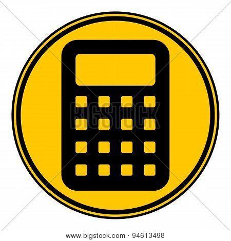 Calculator Button.