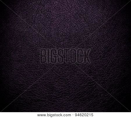 Dark purple leather texture background
