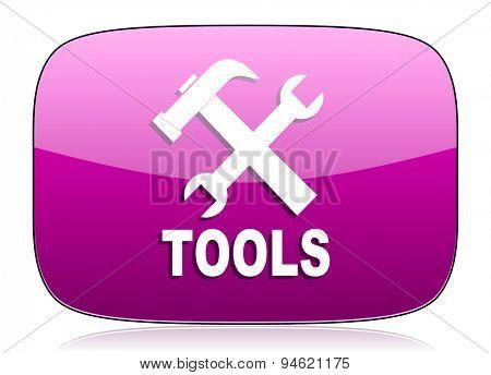 tools violet icon