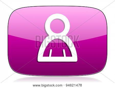 person violet icon