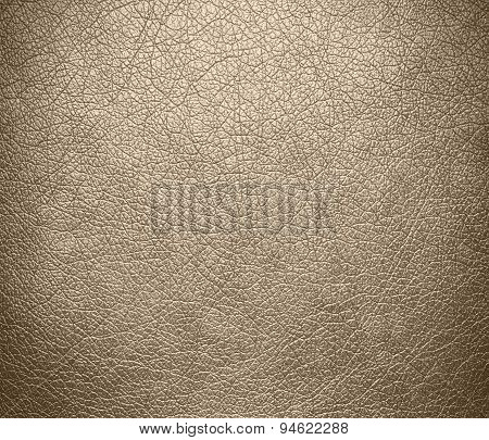 Dark vanilla leather texture background