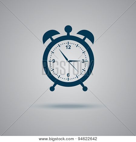 alarm, clock, icon