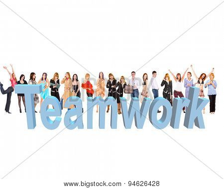 Business People Colorful Teammates