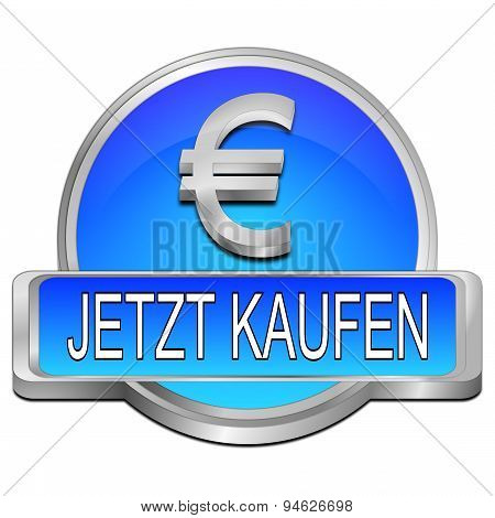 Buy now Button with Euro Symbol - in german