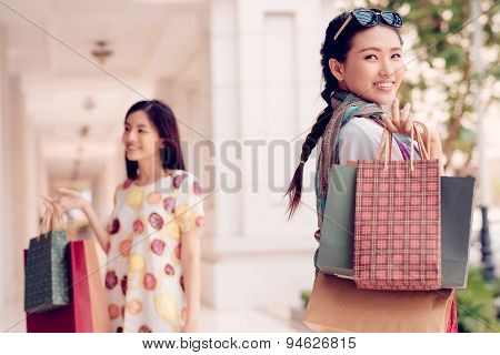 Happy Vietnamese Shopaholic