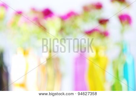 Natural colorful blurred background