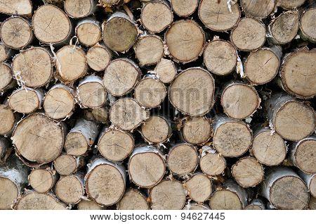 Firewood Laid