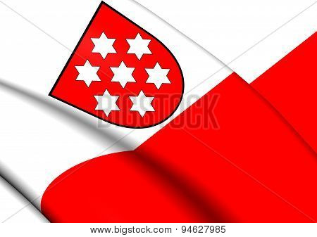 Flag Of Thuringia (weimar Republic), Germany.