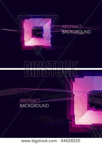 Abstract Vector Background. Trendy Background for you Text.