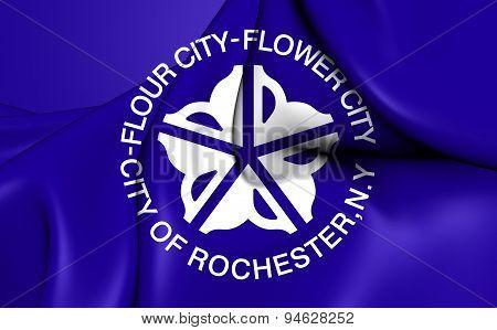 Flag Of Rochester, New York.