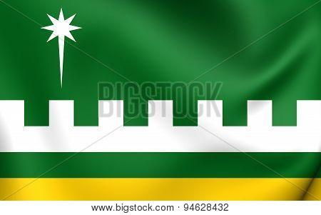 Flag Of Villalba, Puerto Rico.