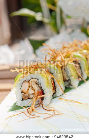 Japanese Sushi Rolls Maki Sushi