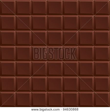 Vector Dark Chocolate Background