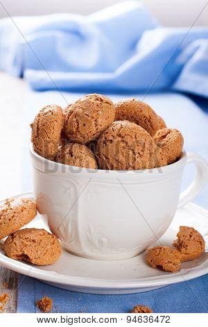 Italian almond cookie amaretti