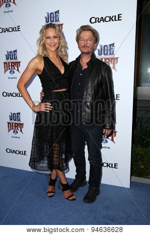 LOS ANGELES - JUN 24:  Brittany Daniel, David Spade at the