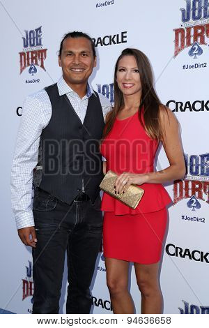 LOS ANGELES - JUN 24:  Adam Beach at the