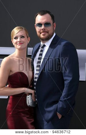 LOS ANGELES - JUN 28:  Beth Behrs, Michael Gladis at the