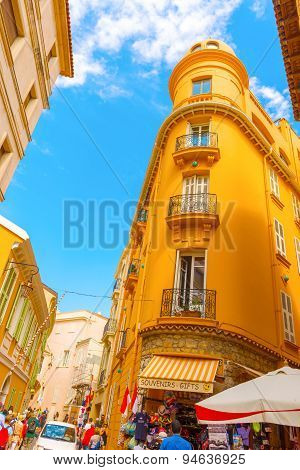 Monaco-ville Street