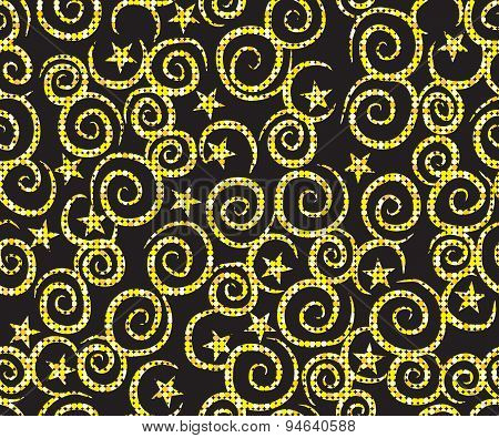 Seamless Pattern Background With Christmas-tree Decoration
