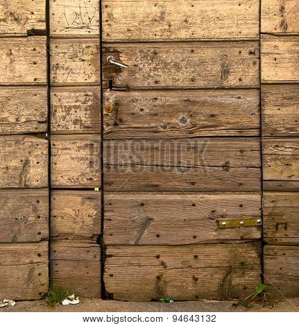 Sumirago Abstract   Curch  Closed Wood Italy  Lombardy